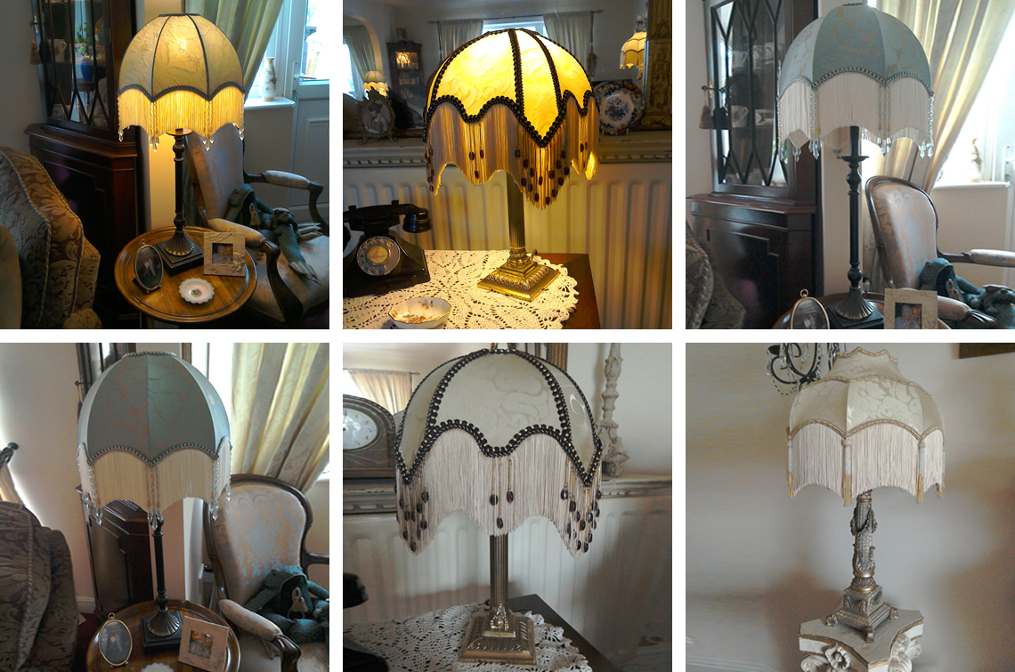 Hand-made Lampshades