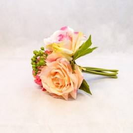 Rose and Berry Posy