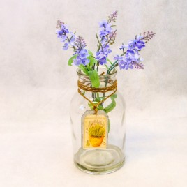 Lavender Jar Light Purple
