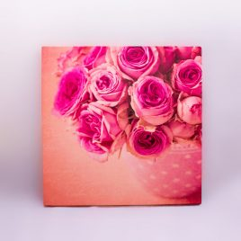 Canvas Style Print – Roses